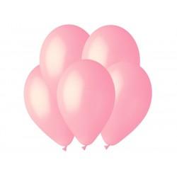Гелиевый шар Светло-розовый