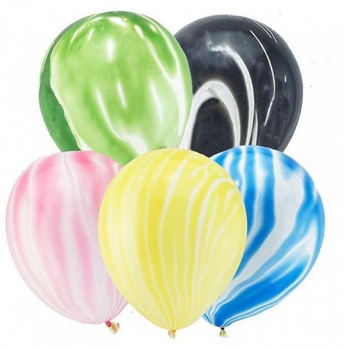 Гелиевый шар Агат цвет в ассортименте