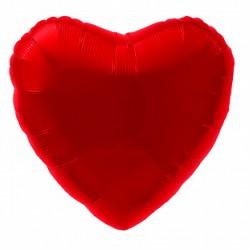 Фольгированный шар Сердце Красный
