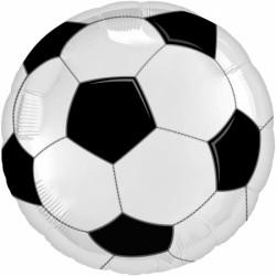 """Фольгированный шар круг """"Футбольный мяч"""""""