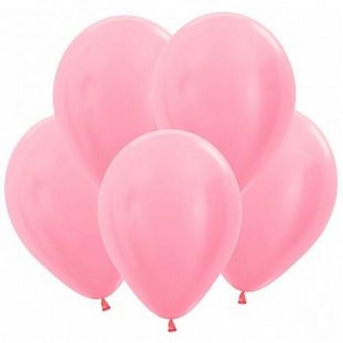 Гелиевый шар Перламутр Розовый