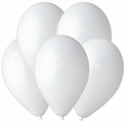Гелиевый шар Белый премиум