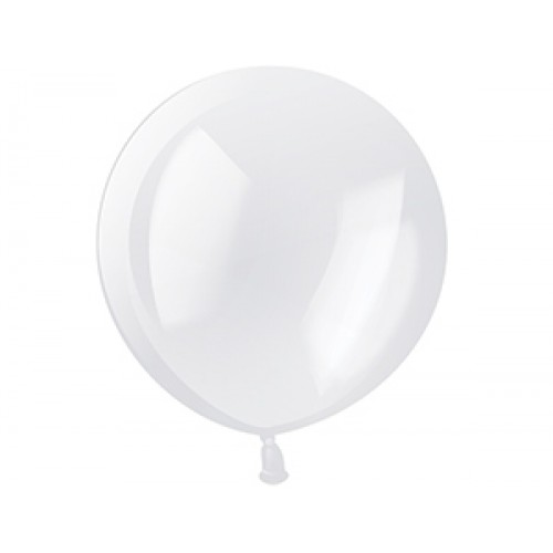 "Гелиевый шар ""Кристалл"" Прозрачный"