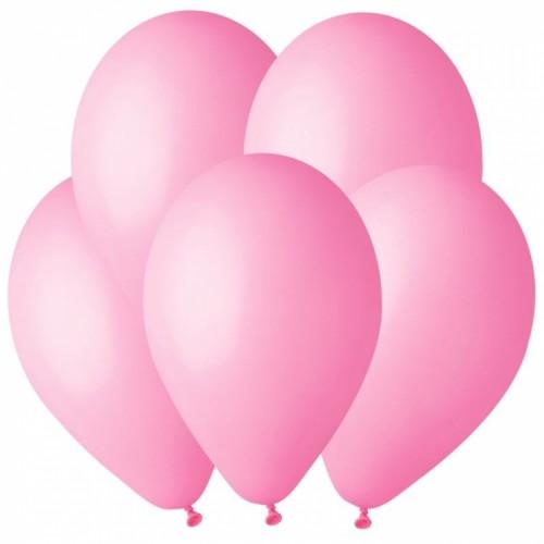 Гелиевый шар Розовый премиум