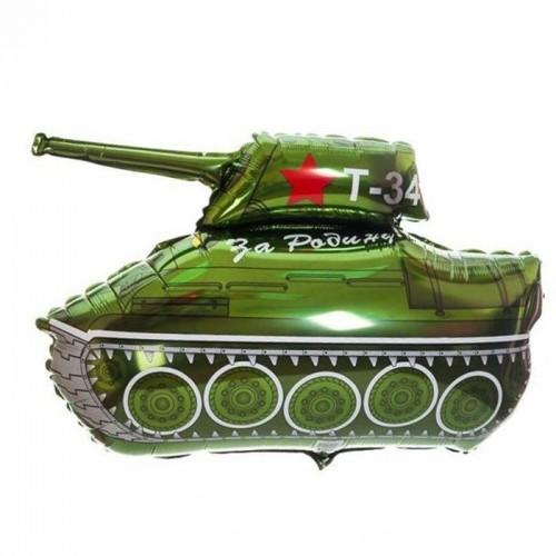 """Фольгированный шар """"Танк T-34"""""""