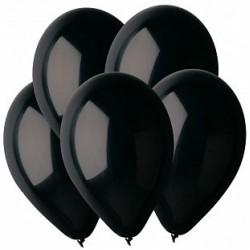 Гелиевый шар Черный