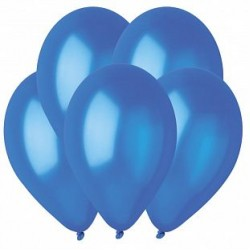 Гелиевый шар Металл Темно-синий