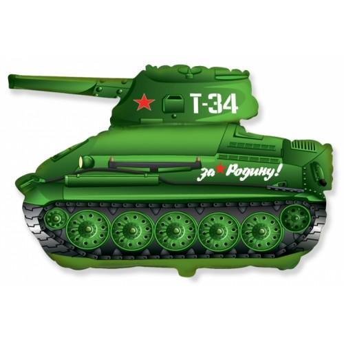 """Фольгированный шар """"Танк Т-34"""""""