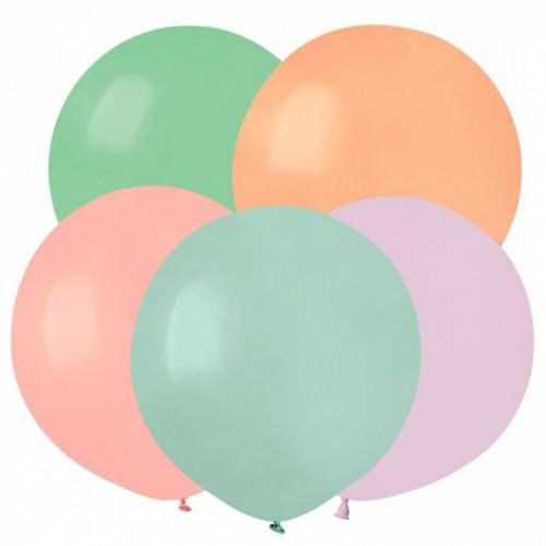 Гелиевый шар Макаронс, цвет в ассортименте