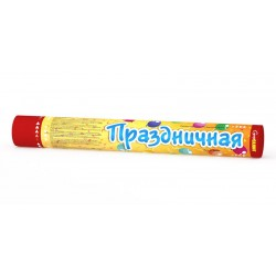 """СС0102 Хлопушка пневматическая """"Праздничная"""" 40 см"""