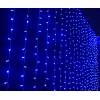 """Гирлянда """"Занавес"""" 160 ламп, синий"""