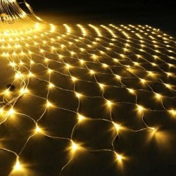 "Гирлянда ""Сетка"", 240 ламп, белый тепл."