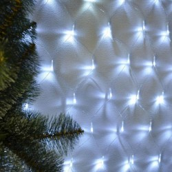 "Гирлянда ""Сетка"" 160 ламп, белый хол."