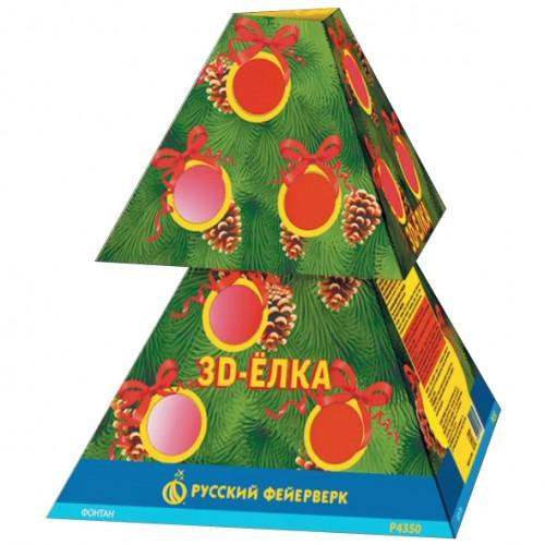 Фонтан 3Д-Елка
