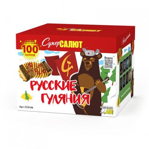 """Салют """"Русские гуляния"""" (1,0*100)"""