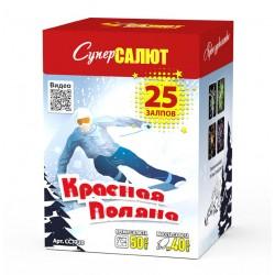 """Салют """"Красная Поляна"""" (1,2""""х25)"""
