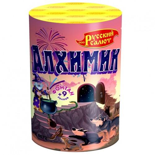 """Фонтан+салют """"Алхимик"""" (0,8""""х10)"""