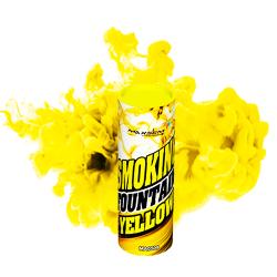 Дымовой фонтан Желтый (фитиль, 30-45 сек)